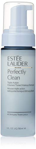 (Estee Lauder Perfectly Clean Triple Action Cleanser for Unisex, 5 Ounce)