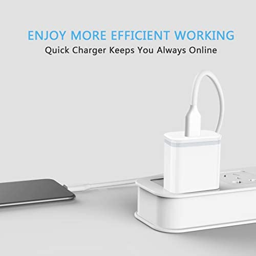 [Upgraded] LUOATIP 20W USB C Fast Charger Replacement for iPhone 12/12 Mini/12 Pro/12 Pro Max, PD 3.0 Wall Plug Cube Power Delivery Block Adapter for Phone 11 Pro Max SE 2020, Pad Pro, AirPods Pro