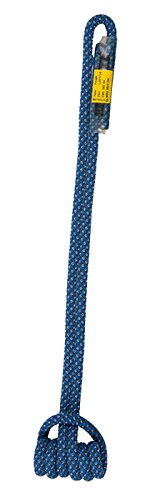 Sterling 19'' 7mm Sewn Prusik (Blue w/Gray Stripes, 25'') by Sterling Rope Company