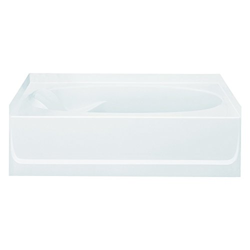 Sterling Plumbing 71101120-0 Ensemble Bathtub, 60-Inch x 36-Inch x 16-Inch, Right-Hand, White