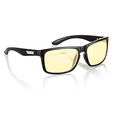 Gunnar Optiks Intercept Full Rim Advanced Video Gaming Glasses with Amber Lens Tint