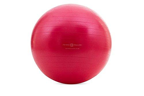 Yoga Gym Ball (Red) - 6