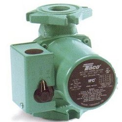 Taco 0010-MSF2-IFC 3-Speed Service Pump Cast Iron Service Circulator with IFC - 1/20HP