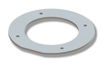 Lynn Manufacturing Replacement SBI Pellet Stove Exhaust Adapter Gasket 21392 (3' Ceramic Insert)