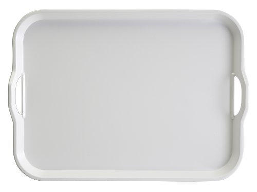 Hutzler 3920WH Handles Serving Tray, White