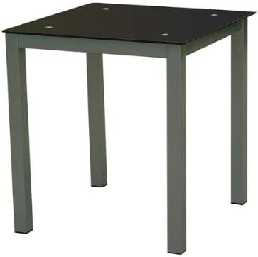 Nd 2454140031 - Mesa refez Cuadrada 75x70x70cm - Negra: Amazon.es ...
