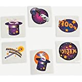 Pack of 12 - Magic Trick Temporary Tattoos - Great Party Loot Bag Fillers