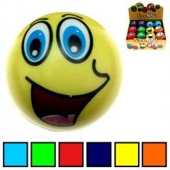 100 Knautschball Stressball Smiley 6 cm