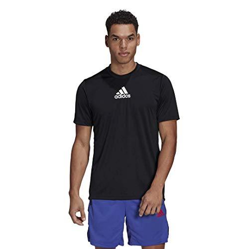 adidas Men's Designed 2 Move Sport 3-Stripes Tee