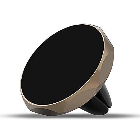 Soporte Movil Coche, [Magnético] para Rejillas del Aire del vehiculo Diseño Diamante [