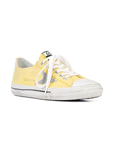 Golden Goose Sneakers Donna G30WS639M3 Tessuto Giallo