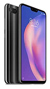 Xiaomi Mi 8 Lite Dual SIM - 64GB, 4GB RAM, 4G LTE, Midnight Black - International Version (M1808D2TGN-64)