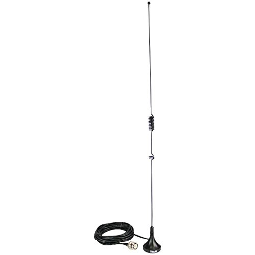 TRAM 1089-BNC Scanner Mini-Magnet Antenna VHF/UHF/800mhz-1,300mhz with BNC-Male Connector