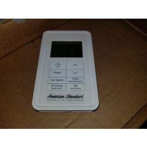 AMERICAN STANDARD TVCTRLTWR001A VARIABLE REFRIGERANT FLOW SYSTEM SIMPLE WIRED REMOTE CONTROL