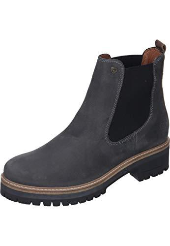 588 Dk BLK1978 254 Grey Boots 264 le Chelsea Femme Gris Rww57g