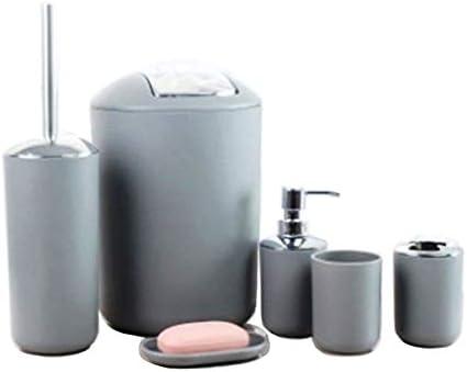 Accessori Da Bagno Design : Gmmh set di accessori da bagno con dispenser per sapone