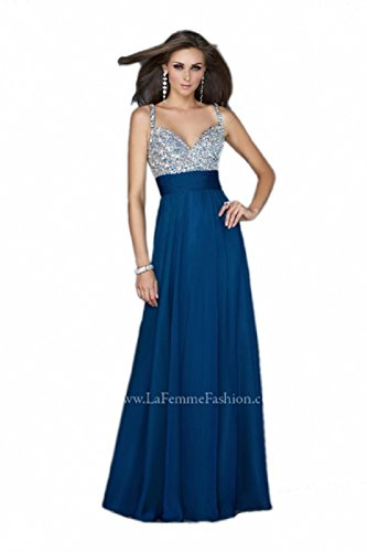 Buy long prom dress by la femme - 3