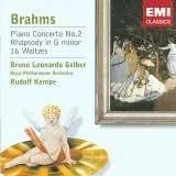 Brahms: Piano Concerto No 2 / Rhapsody in G Minor / 16 Waltzes