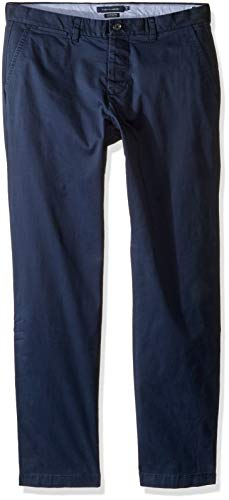 Tommy Hilfiger Mens Adaptive Chino Pants with Adjustable Waist and Magnets