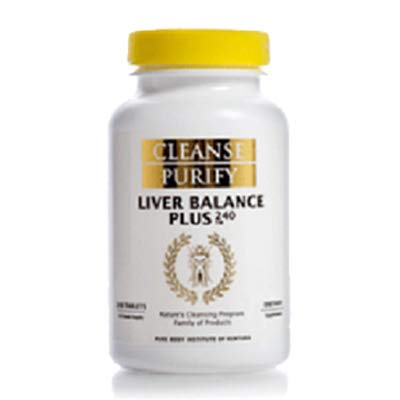 Cleanse Purify Liver Balance Plus 240 Tablets