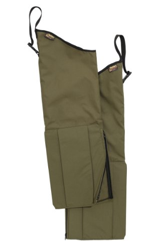 Gaiters Olive Drab (Rattler Scaletech Snake Protection Chaps (Green, Regular/Regular))