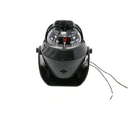 Home Led Light Digital Compass Magnetic Sphere Marine Military Boat Auto Car Compass Lc760 Beautiful In Colour