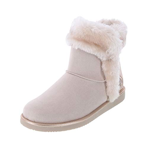 Airwalk Blush Women's Panna Cozy Boot 7.5 Regular (Airwalk Boots)