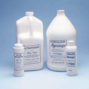 Fabrication Enterprises Myossage lotion, 1 gallon dispenser, case of 4 -