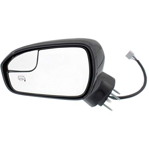 2016 Ford Fusion Mirror - Kool Vue Power Mirror For 2013-2016 Ford Fusion Driver Side Heated