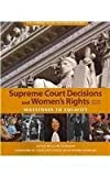 Supreme Court Decisions and Womens Rights, Clare Cushman, 1608714071