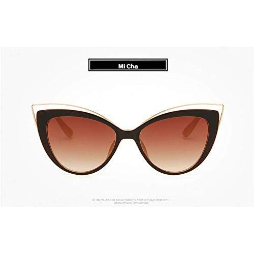 YHEGV Retro Cat Eye Glasses Lady Sunglasses Women Hd Lens Sun Glasses Female Katie Holmes Curve Design Elegant Cateyes Eyewears