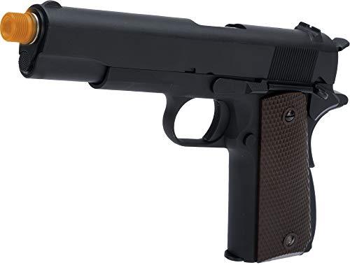 Evike WE-Tech Latest Gen2 Full Metal 1911 GI Full Size Airsoft GBB Pistol (Color: Black / CO2)