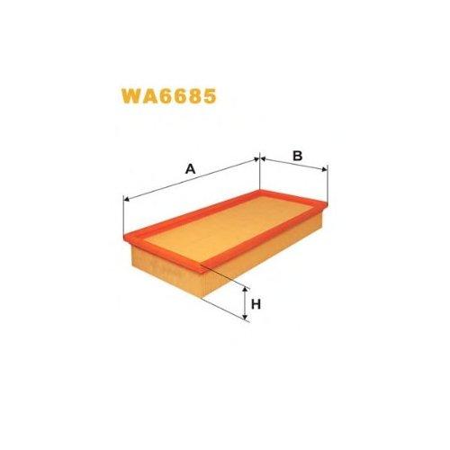Wix Filter WA6685 Air Filter: