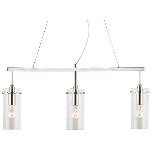 linear pendant lighting fixtures amazon com