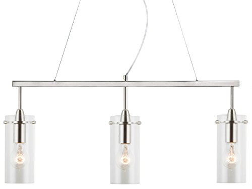 Linea di Liara Effimero Three-Light Hanging Island Fixture N