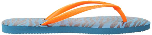 Blue Donna Infradito Havaianas Capri 5210 Multicolore Animals Slim xYUOwpqz