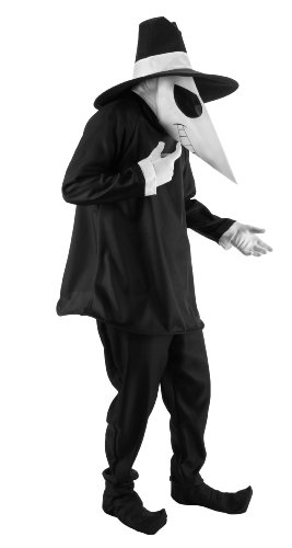 (elope Licensed Mad Spy Costume, Black,)