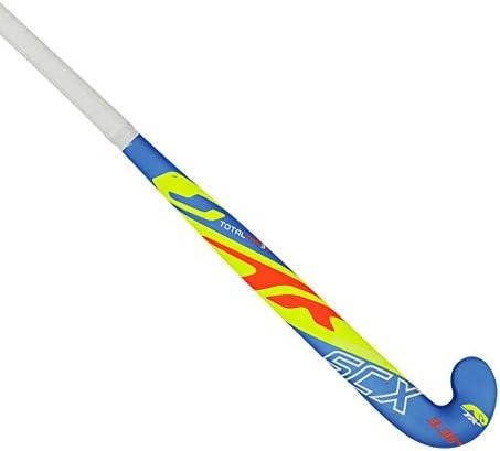 TK SCX 3Junior Hockey Stick–ブルー/ライム/オレンジ( 2017/ 18)–30インチライト