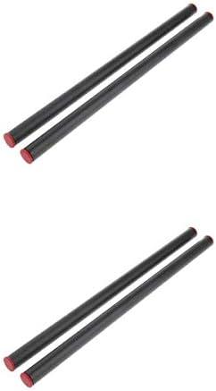 4本 15mmロッド ル DSLRケージ フォローフォーカス ショルダーサポートリグ カーボンファイバー 25cm+30cm