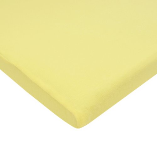 American Baby Company 100% Cotton Supreme Jersey Knit Fitted  Bassinet Sheet, - Trim Bedding Cradle