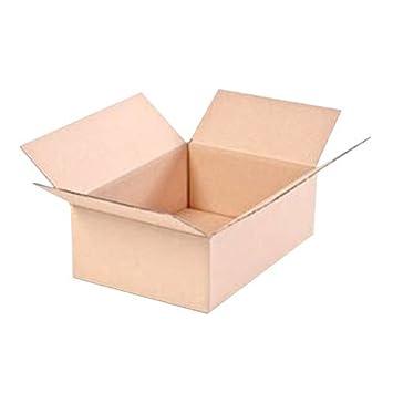 20 einwellige Caja 300 x 215 x 100 mm (Medidas Internas) en marrón,