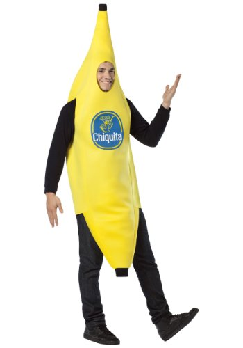 Rasta Imposta Chiquita Banana, Yellow, One Size