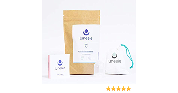 Taza menstrual ergonómica Luneale – Fabricado en Francia ...