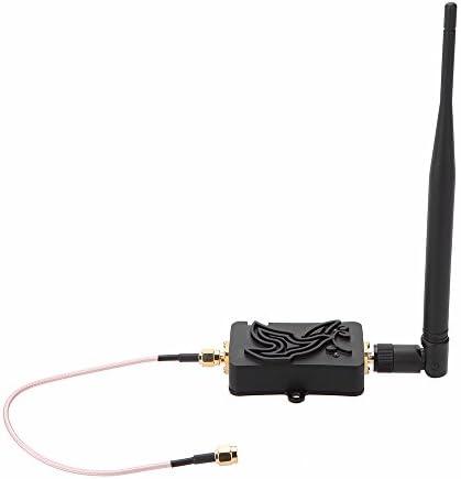 KKmoon amplificadores de señal 4 W 4000 MW 802.11b/g/n Wifi inalámbrico Router 2,4 gHz WLAN ZigBee Bluetooth Booster con antena TDD