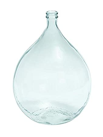 Bodenvase Glas amazon com deco 79 glass vase 22 by 15 inch home kitchen
