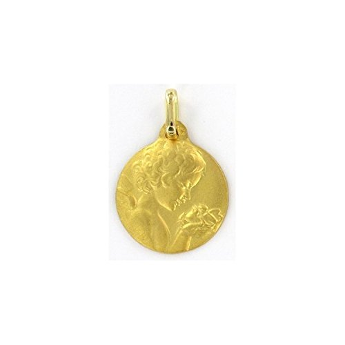 DIAMANTLY Medaille ange or 750