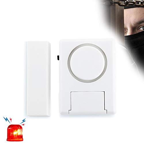 [해외]문 창 경보 125DB 수영장 알람 문 자석 트리거 창 문 도난 경보 / Door Window Alarms 125DB Pool Alarm for Doors Magnet Triggered Window Door Burglar Alarms