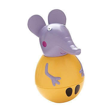 Peppa Pig – Peppa Wutz – Weebles – Elefant Emily – Stehauffigur