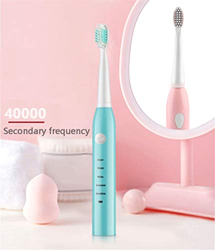 YJZ Electric Whitening Sonic Toothbrush, Electric Toothbrush with Smart Timer, Can Be Quickly Charged for at Least 30 Days of Clean Use, 5 Cleaning Modes and Multiple Brush Heads.