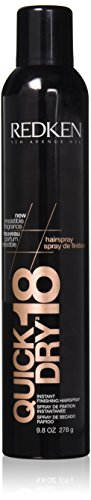 (Redken Quick Dry No.18 Hair Spray, 9.8)